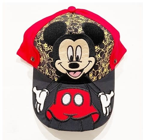 Children Protective Visor and Hat Adjustable (Mickey Red)