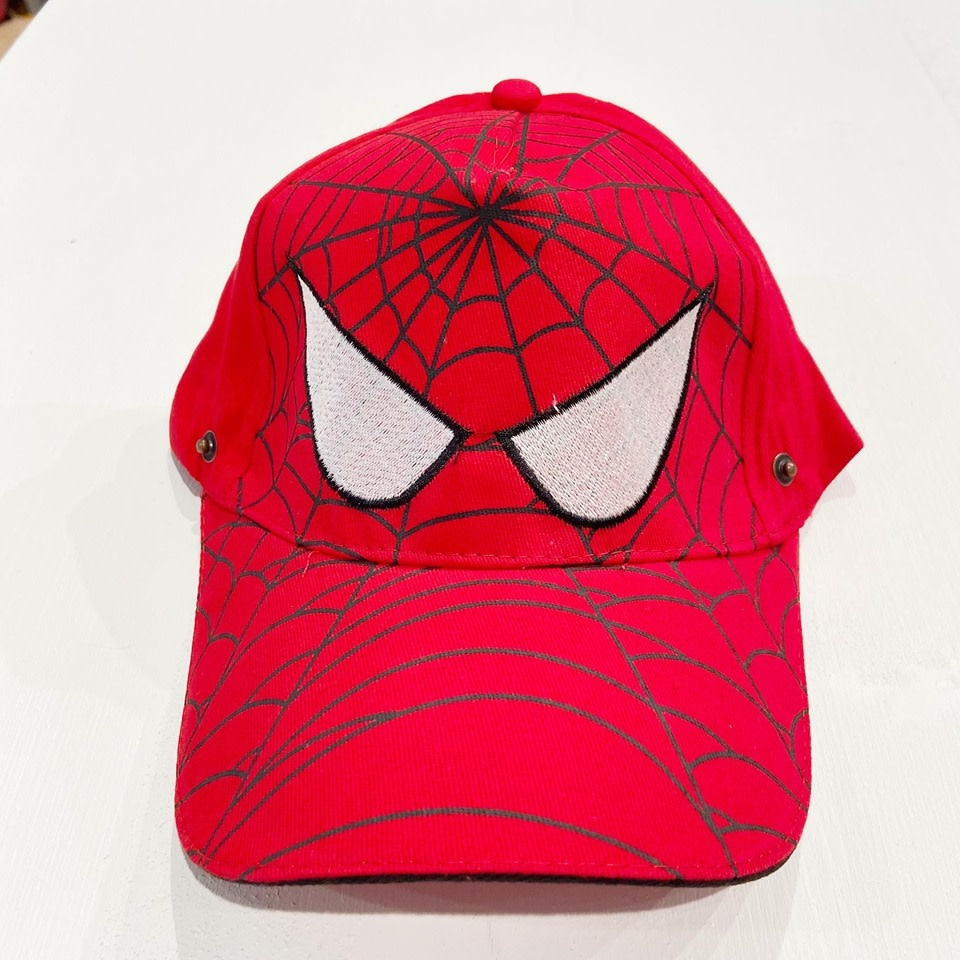 Children Protective Visor and Hat Adjustable (Spider man)