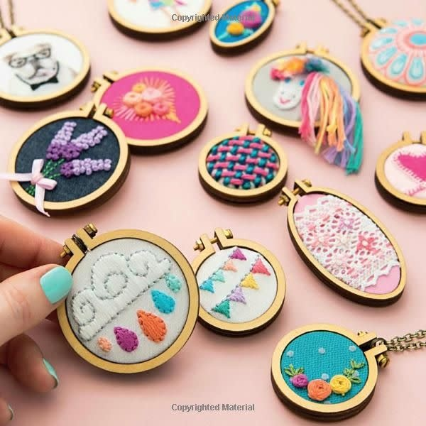Mini Hoop Embroidery Book