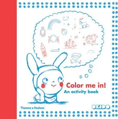 Color me in! An activity book