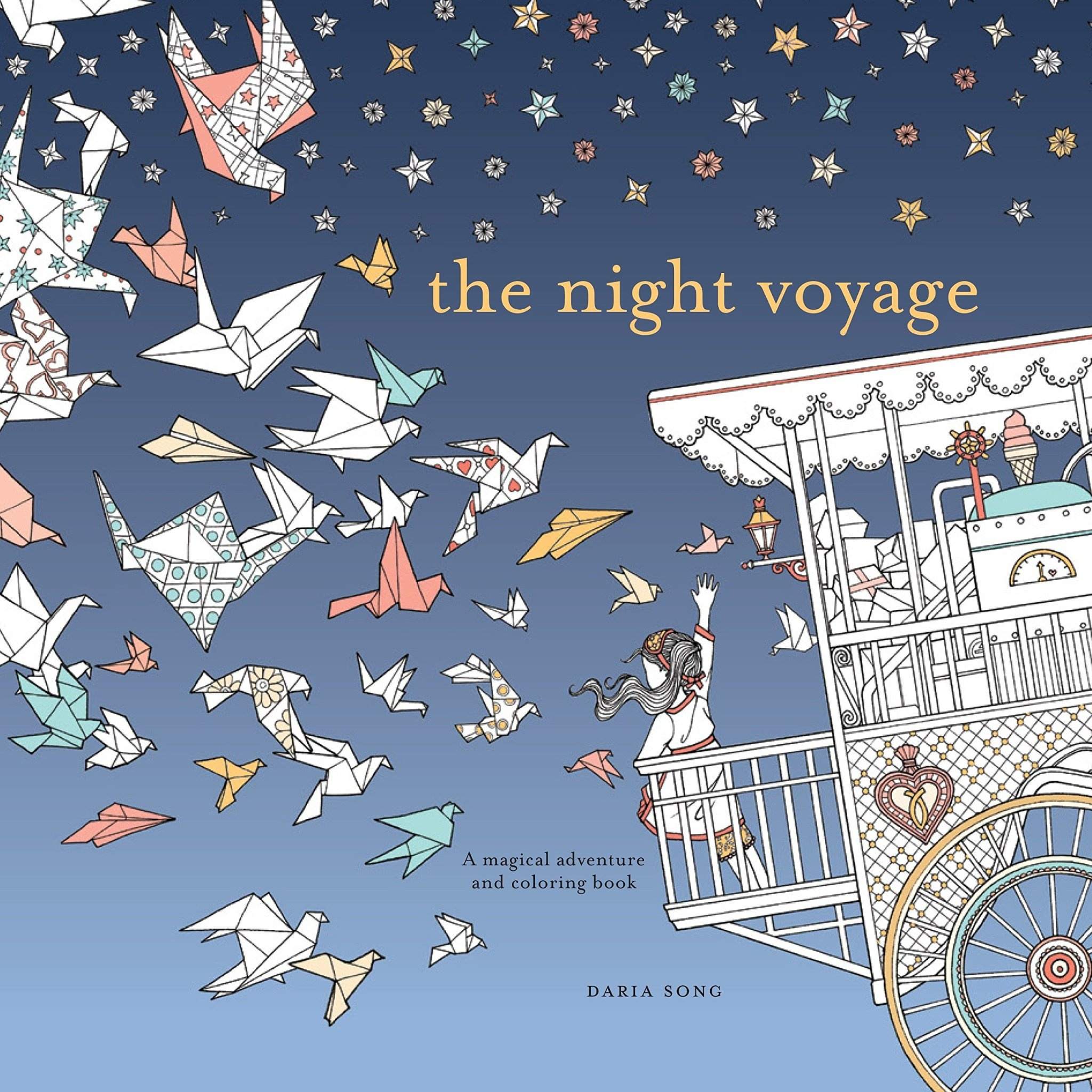 The Night Voyage- Magical Coloring Book
