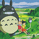 Totoro on Green Grass DIY Painting