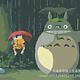 Totoro in Rain DIY Painting