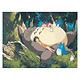 Totoro Napping DIY Painting