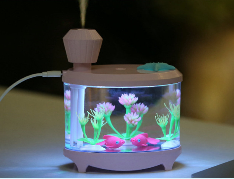 Fish Humidifier Pink