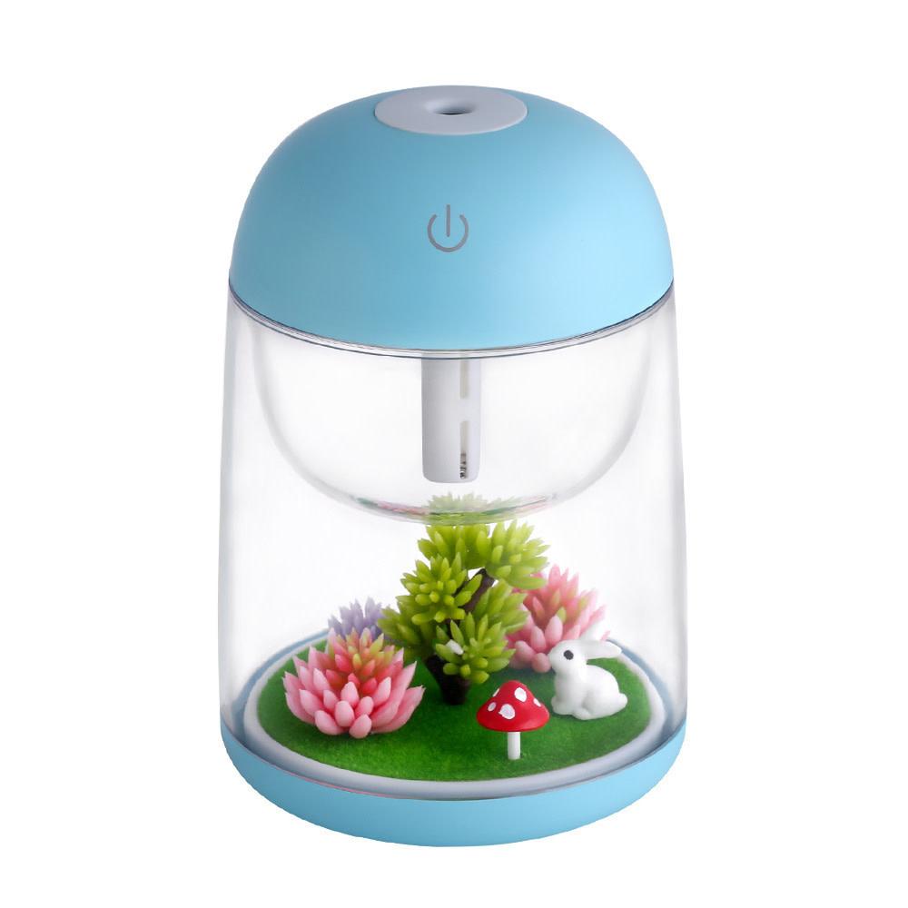 Rabbit Garden Blue Humidifier
