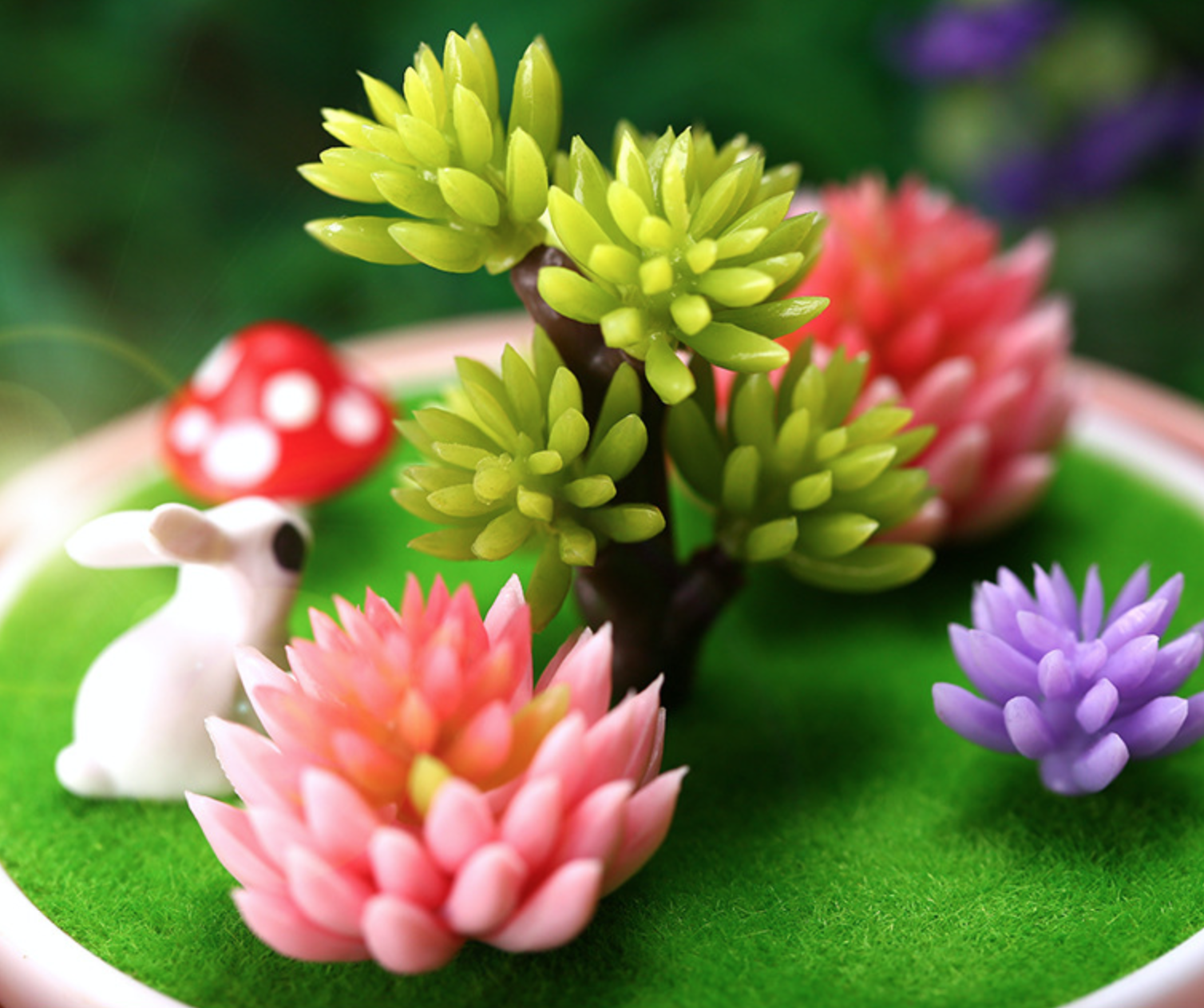 Rabbit Garden Pink Humidifier