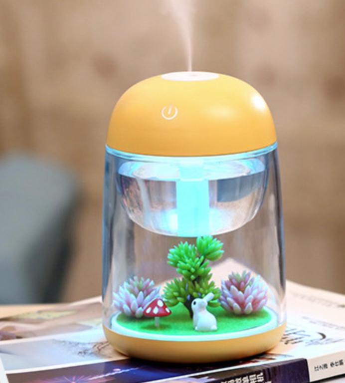 Rabbit Garden Yellow Humidifier