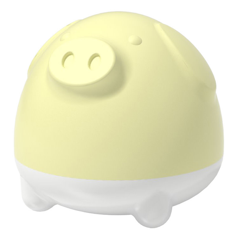 Piggy Sleep Nightlight Yellow