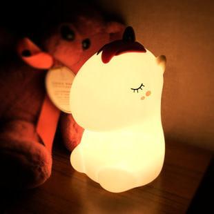 Unicorn White Nightlight