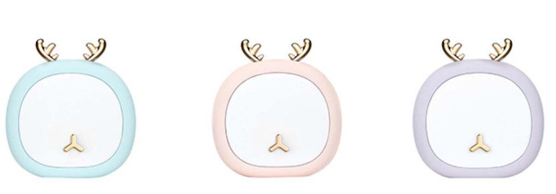 Deer Antler Pink Nightlight