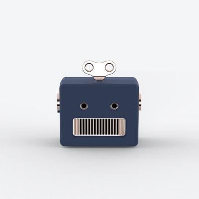 Robot Bluetooth Speaker Black