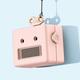 Pink Robot Bluetooth Speaker