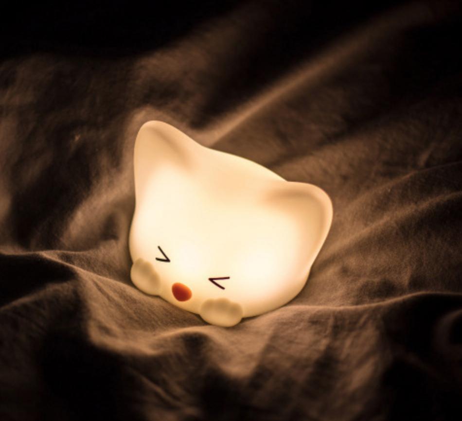 Kitty with Paw Nightlight