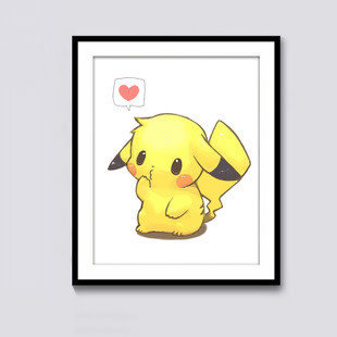 9072-01 Cute Pikachu DIY Dot Painting