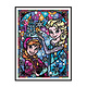 WM4323-02 Elsa and Anna DIY Dot Painting