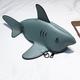 Grey Shark Purse