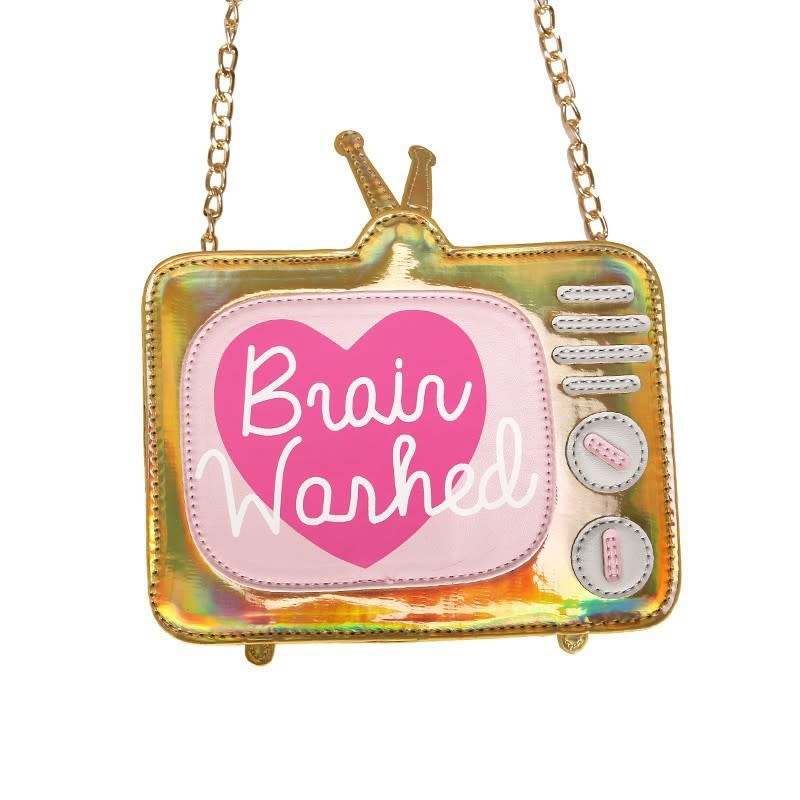 Brain Washed Gold Purse