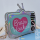 Brain Washed Silver Purse