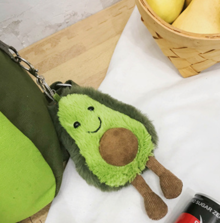 Little and Big Avocado Backpack