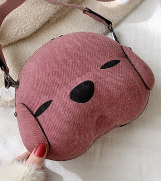 Puppy Face Purse