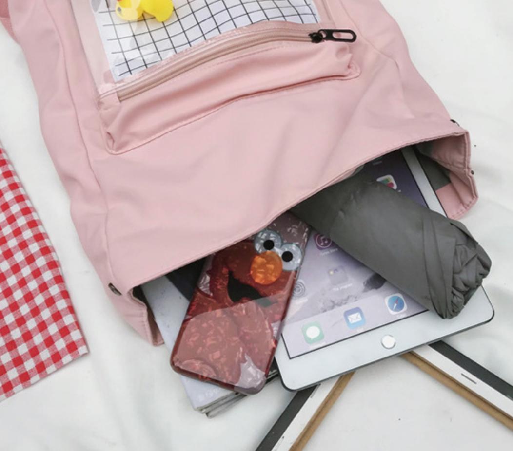 Girl Cat Backpack