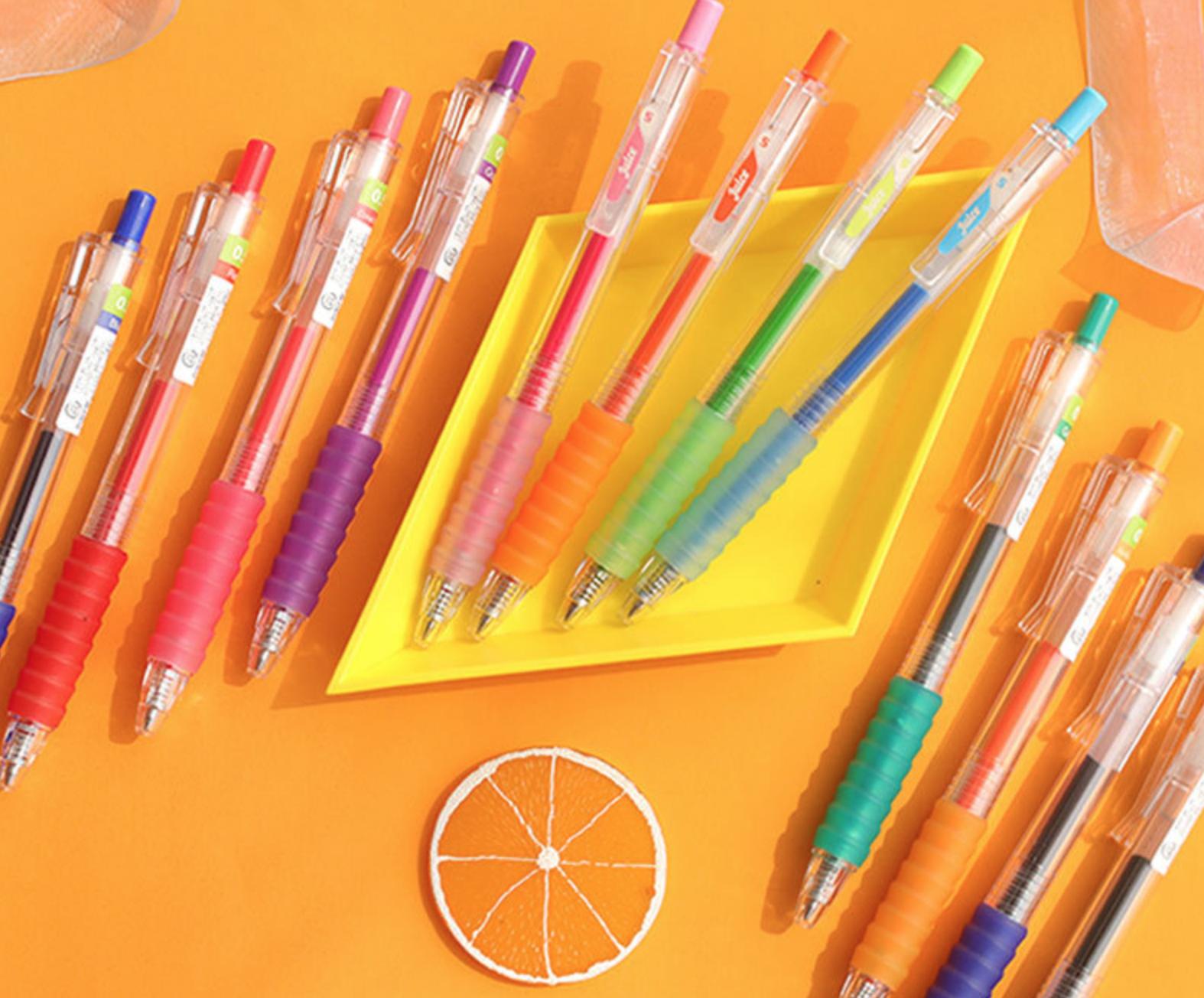Fruit Juice 12 set Color Gel Ink Pen