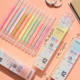 Zuixia Highlight Neon Gel Pen 12 Set