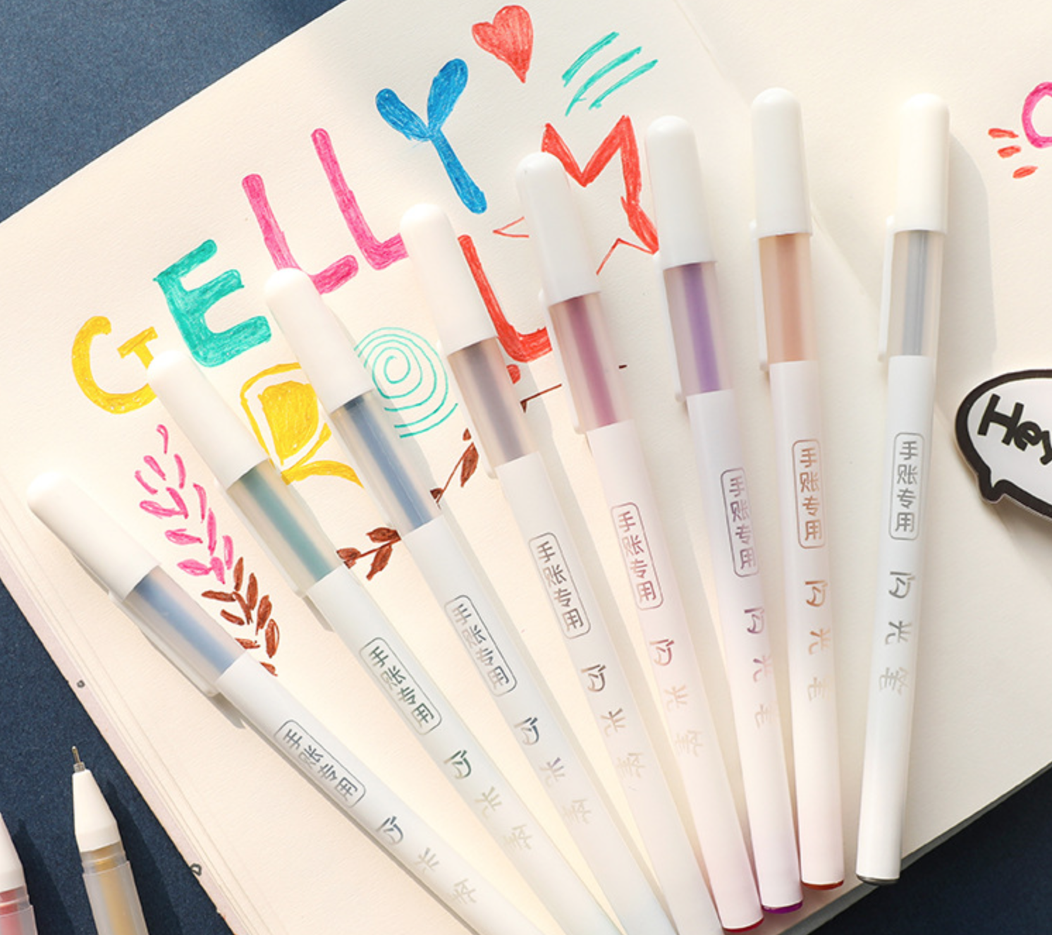 Metallic 10 Set Gel Ink Pen