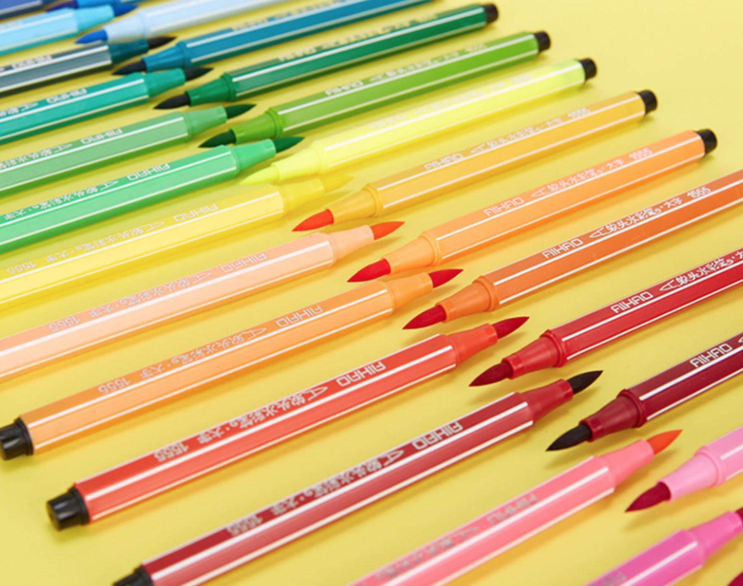 24 Watercolor Children Marker