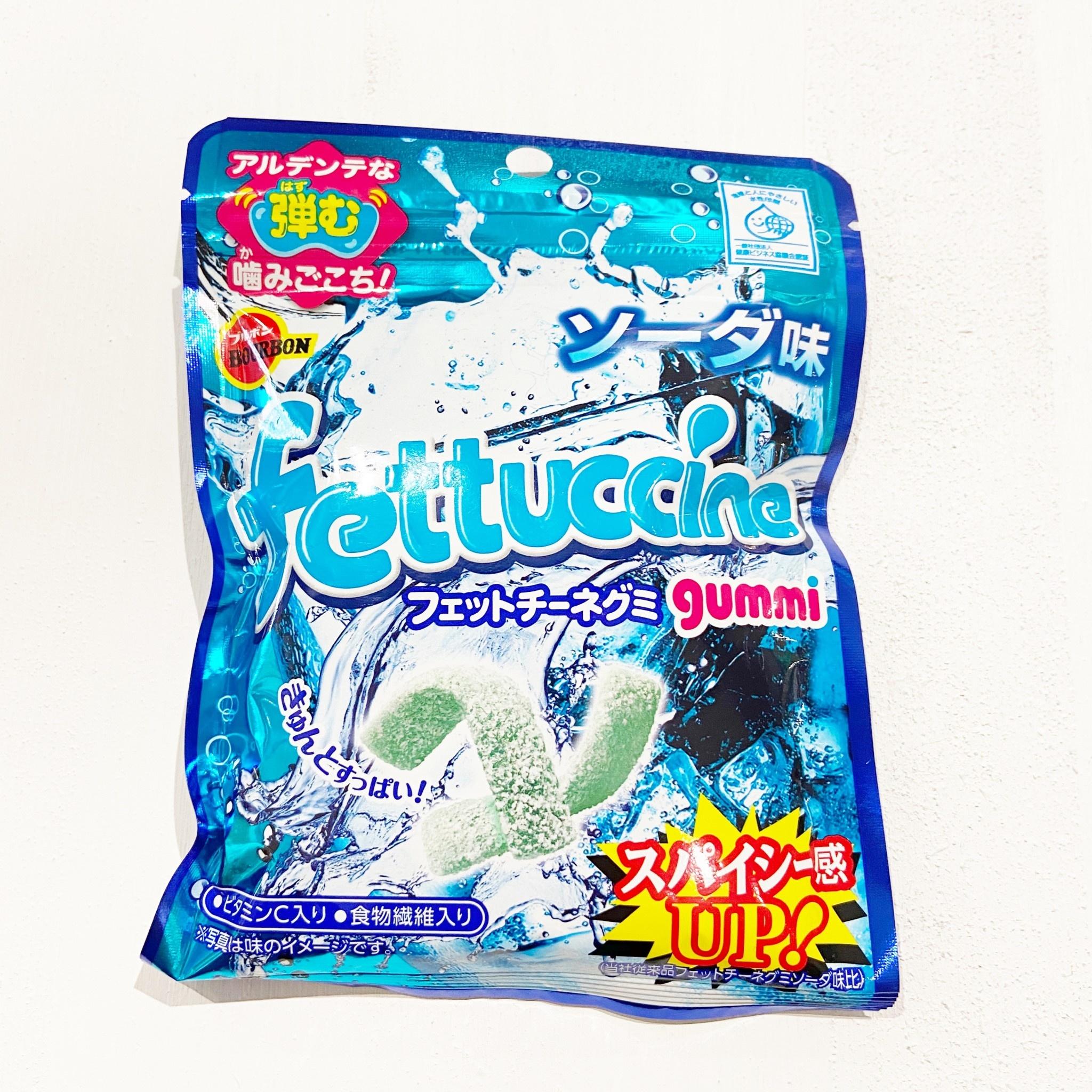 BOURBON Fettuccine Soda Gummy Candy