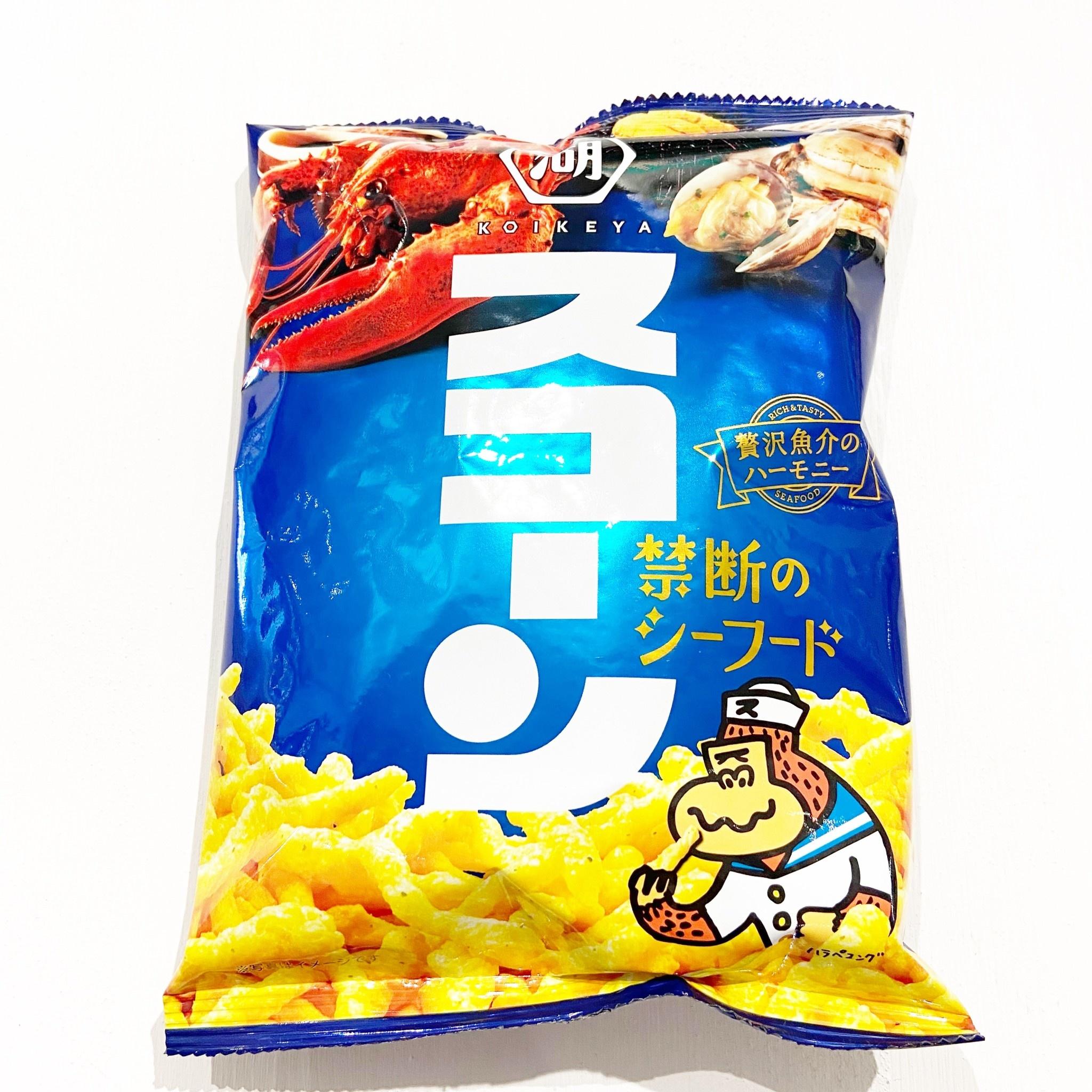 KOIKEYA Corn Sticks Seafood Flavor
