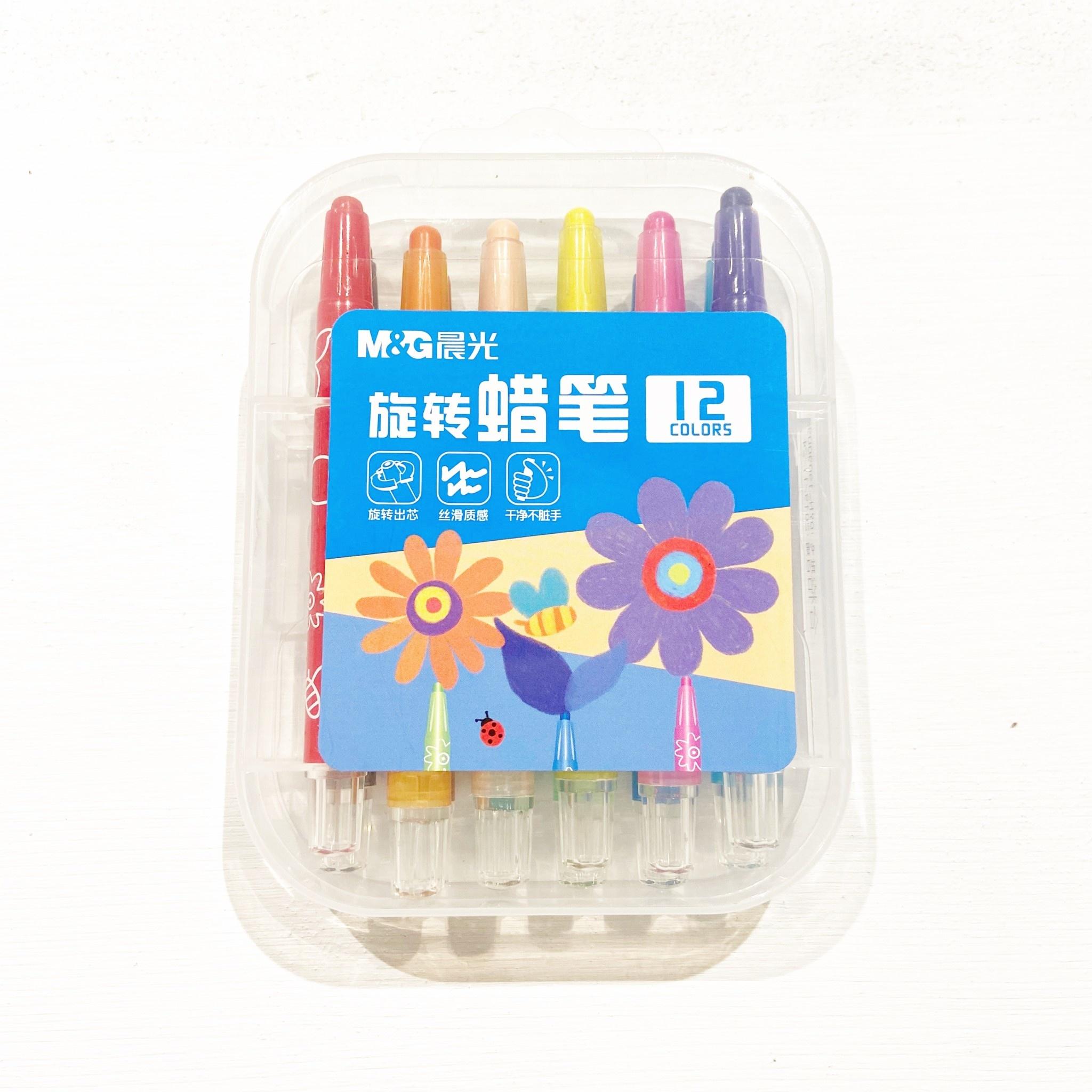 12 Set Short Crayon Set