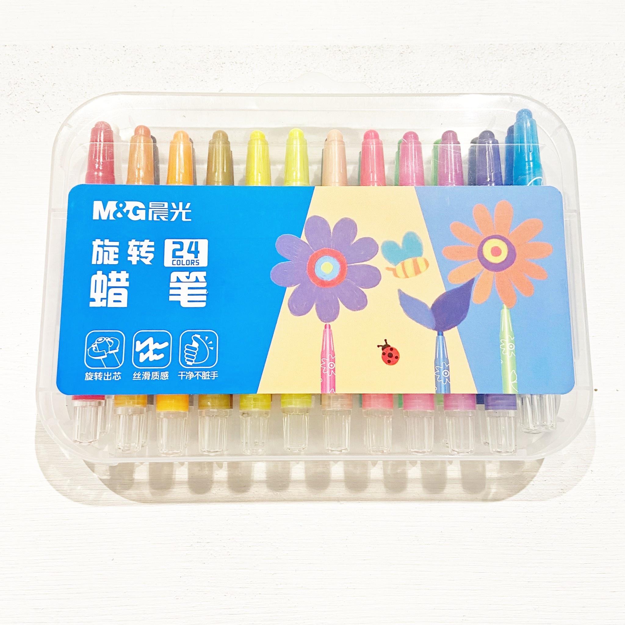 24 Set Short Crayon Set