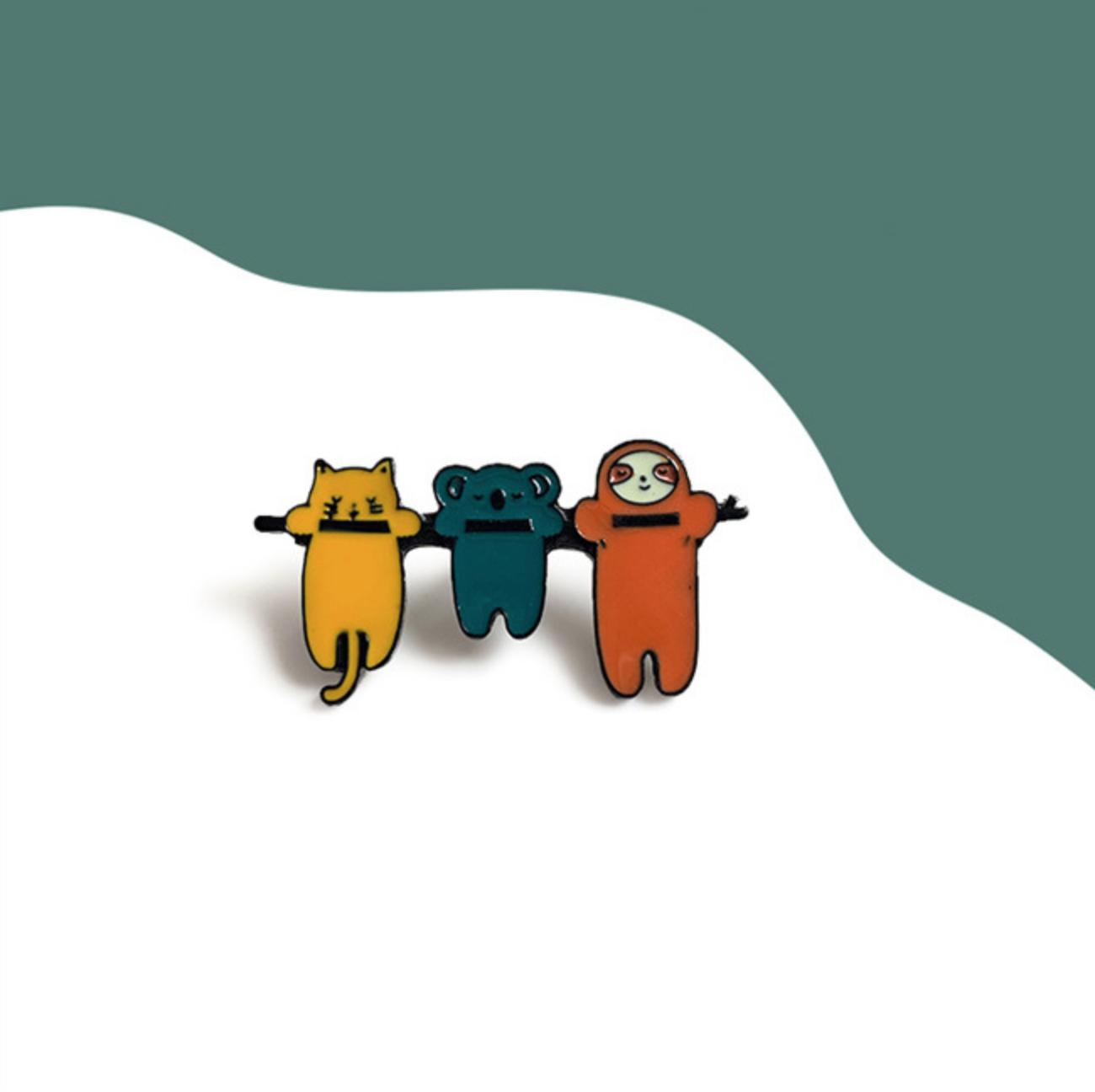 Sloth/Koala/Cat Hang Pin