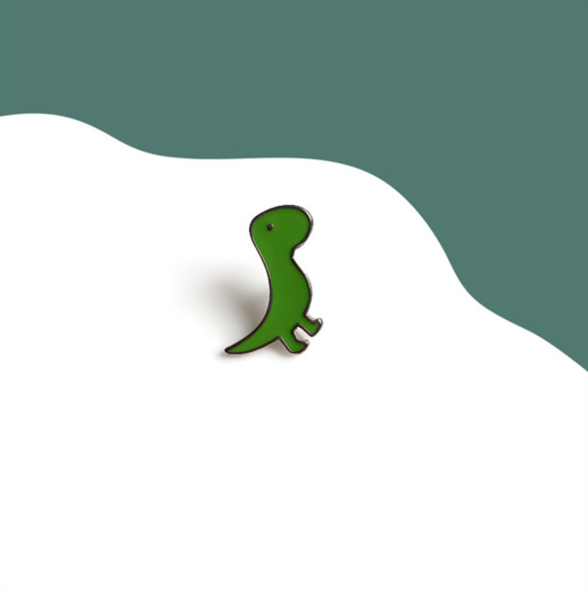 Little Green Dinosuar Pin