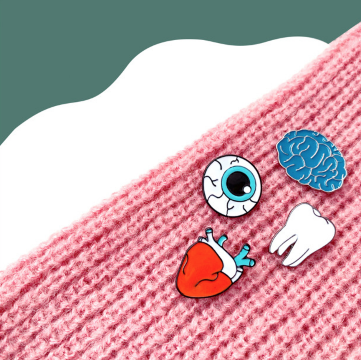 Eyeball Pin