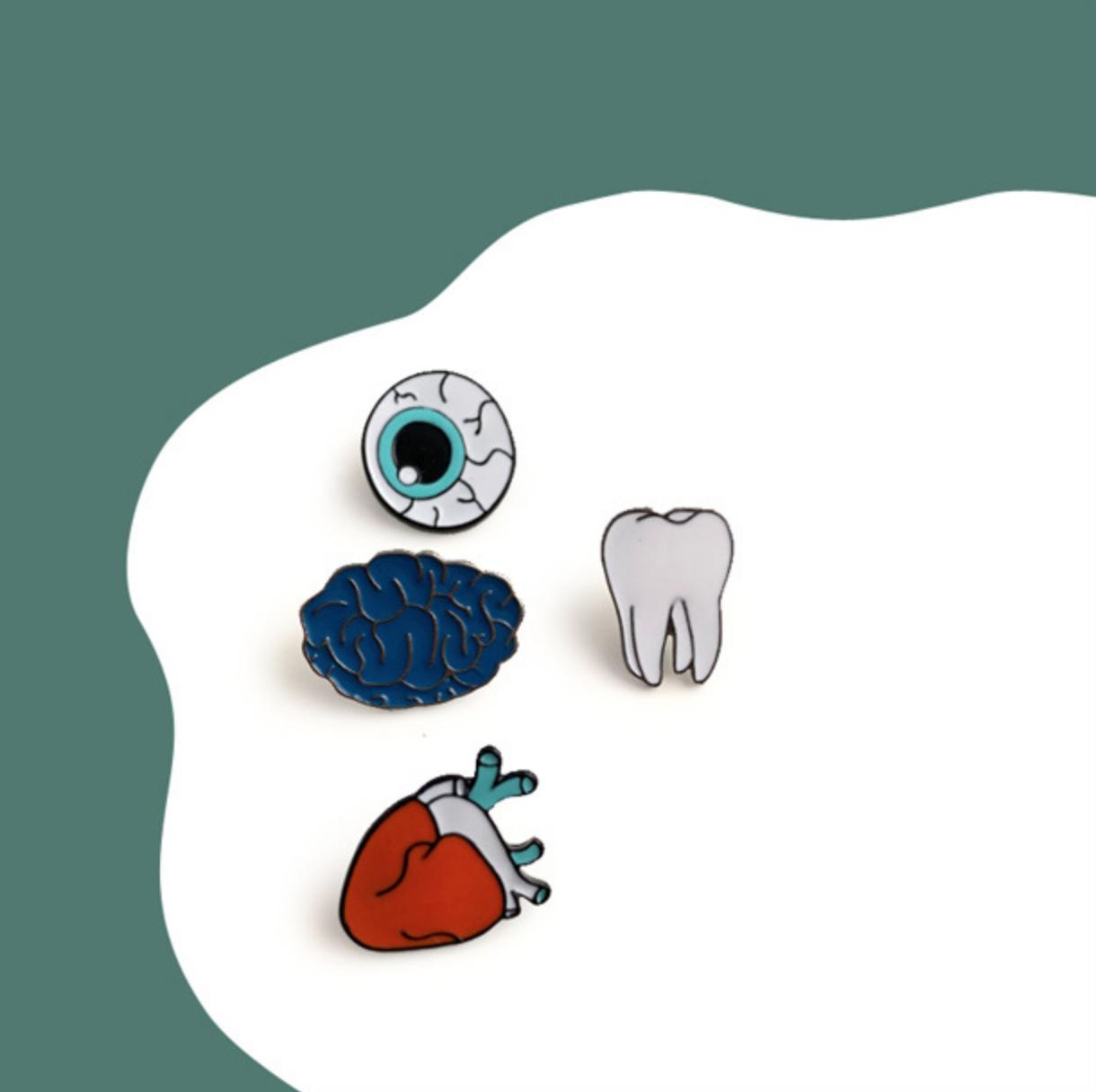 Blue Brain Pin