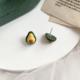 Avocado Yellow Earring