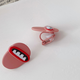 Mouth Clip On Earring