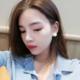 Cream Dot Earring