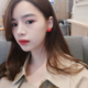 Ruby Red Dot Earring