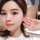 Pink Bubble Flower Earring