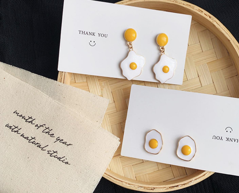 Egg Yolk Earring