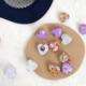 Colorful Heart Earring