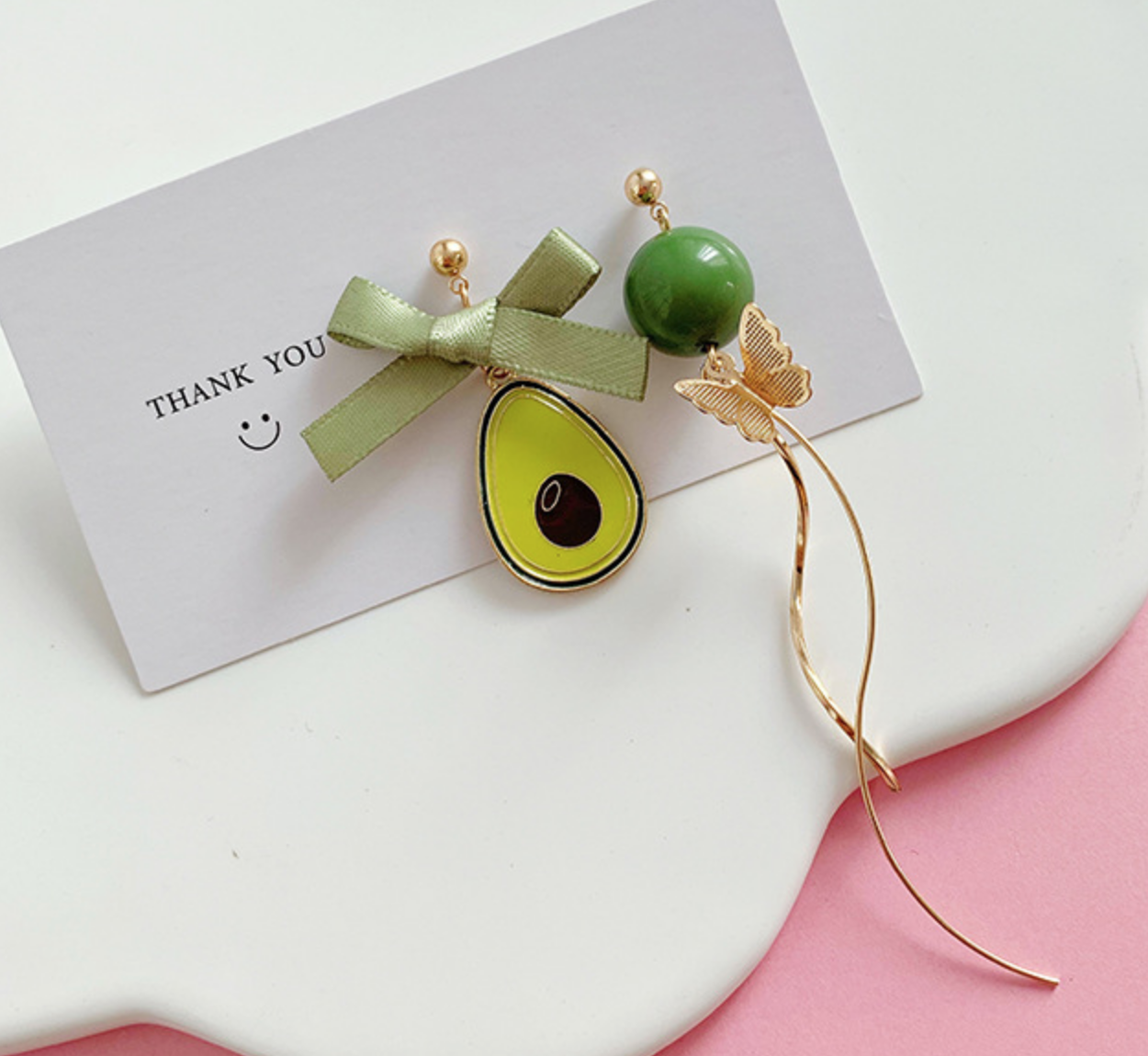 Avocado Dangle Earring