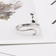 Cat and Tail Ring
