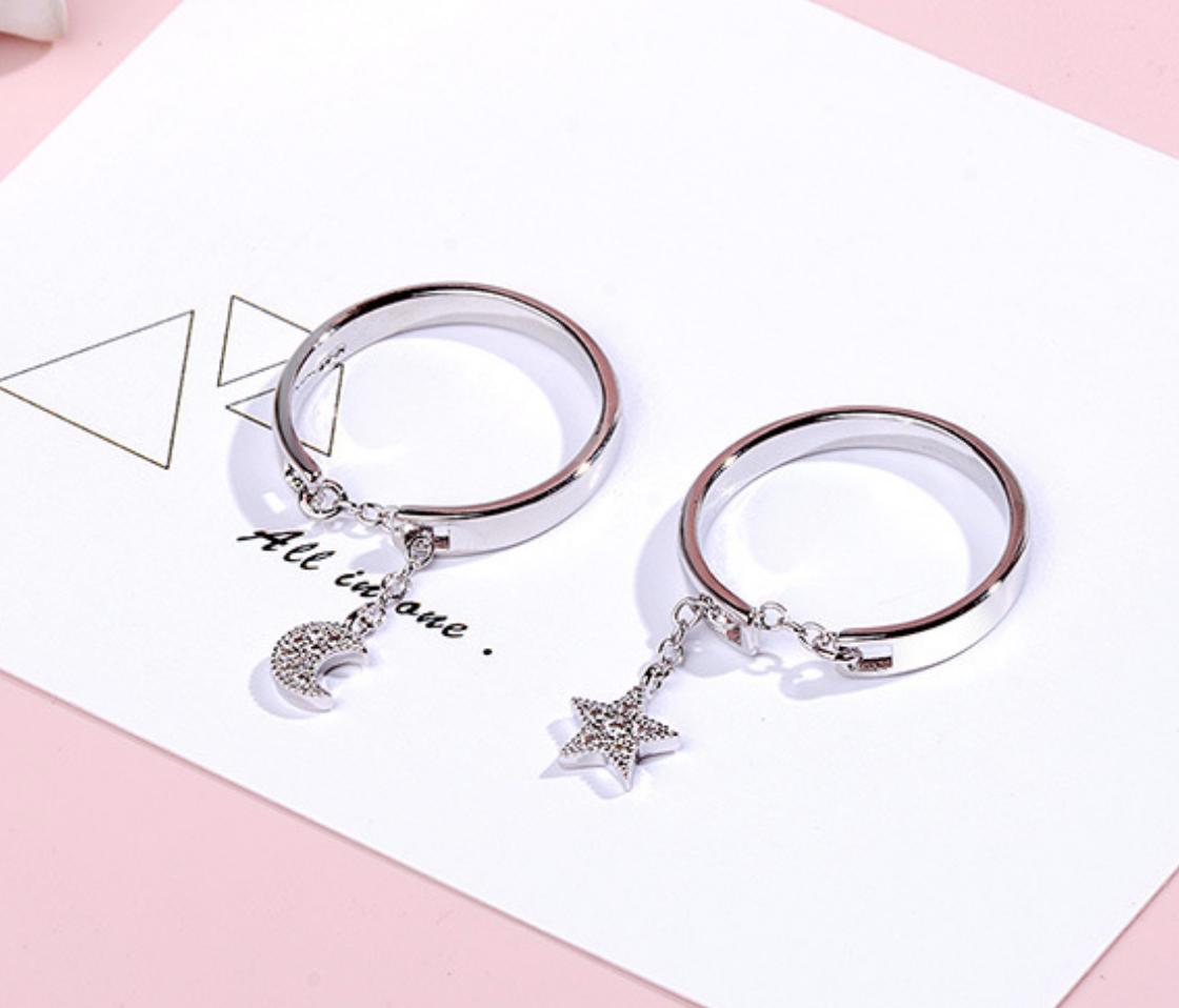Star through Needle Ring