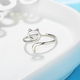 Cat Silhouette Ring
