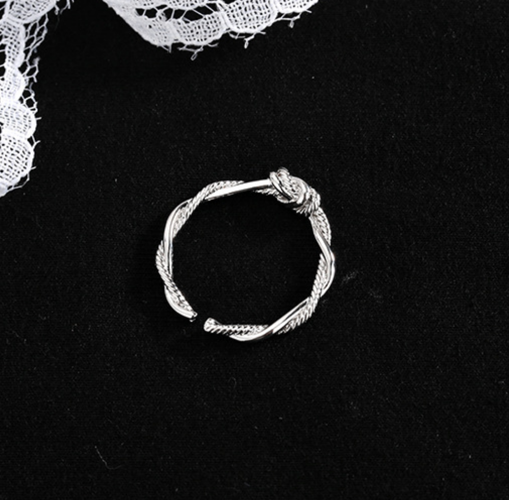 Twisted Rope Ring